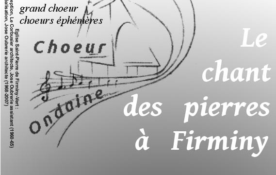 24 mai 2014,le chant des pierres à Firminy