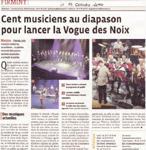 12 octobre 2014 concert de la vogue