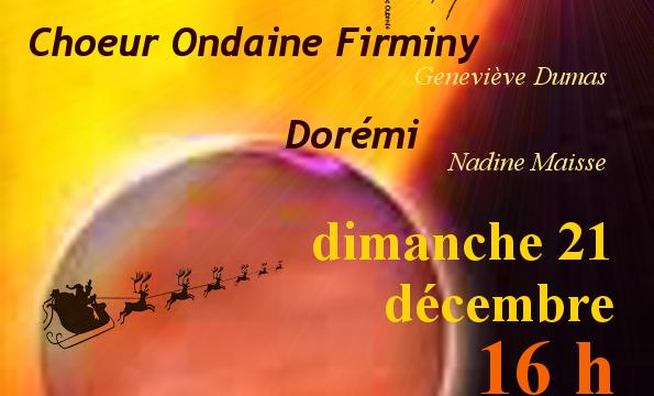 21 décembre 2014, concert de Noël