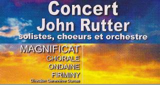 13 juin 2012, concert John Rutter