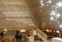 20 juin 2015, concert à l'église Le Corbusier