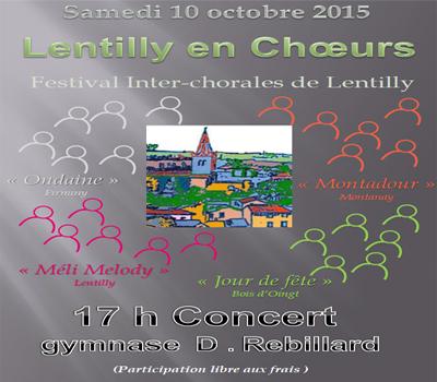 10 octobre 2015, à Lentilly dans le Rhône