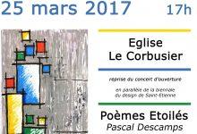 25 mars, concert à l'église Le Corbusier