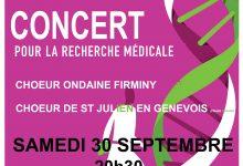 30 septembre 2017, concert caritatif
