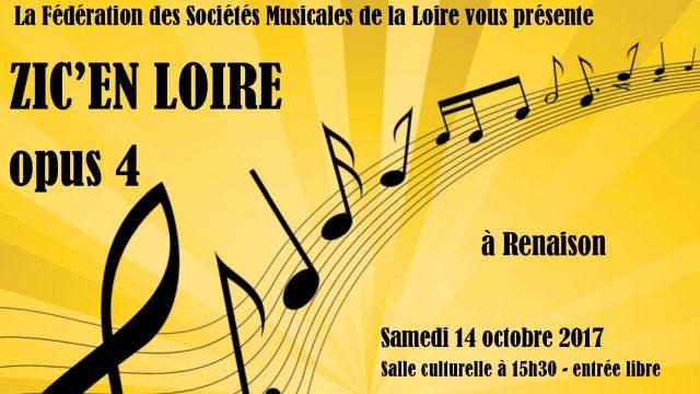 """""""Zic'en Loire opus 4"""" 14 octobre 2017"""
