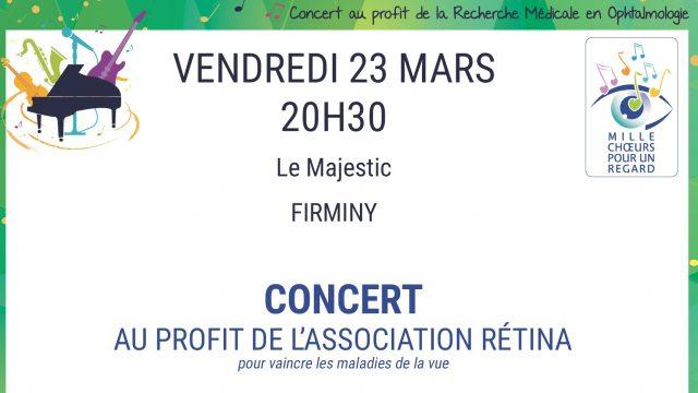 23 mars, au Majestic, concert Retina