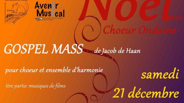 21 décembre 2019, concert de Noël